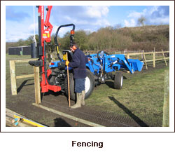Click to view. Fencing
